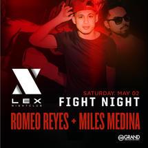 Romeo Reyes and Miles Medina