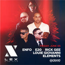 DJ Enfo, E20, Rick Gee, Louie Giovanni, Elements