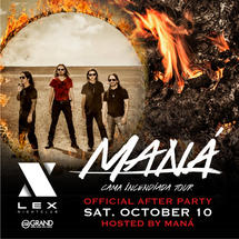 Mana Concert Official After Party hosted by MANA