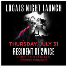 Locals Night Launch