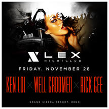 Well Groomed + Ken Loi + Rick Gee