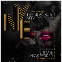 NYE - The Black Tie Affair