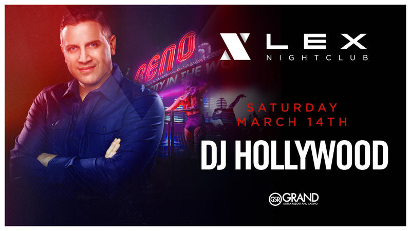 DJ Hollywood set to perform at LEX Nightclub