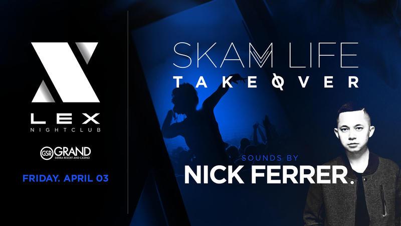 Nick Ferrer April 3rd! #SKAMLIFE Takeover