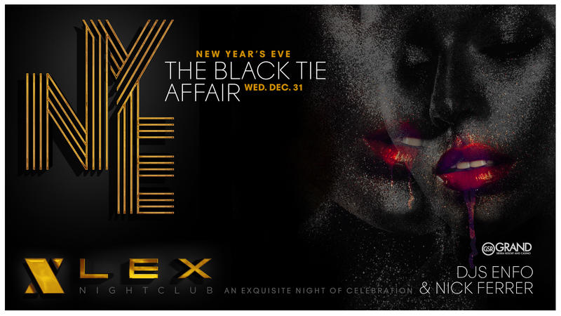 3 reasons to celebrate NYE at Lex Nightclub!