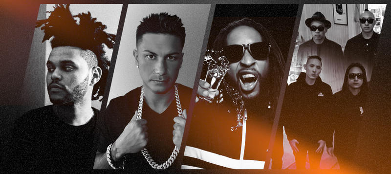 Lex Nightclub's January Lineup is top 5 in the nation - The Weeknd, DJ Pauly D, Lil Jon, Far East Movement