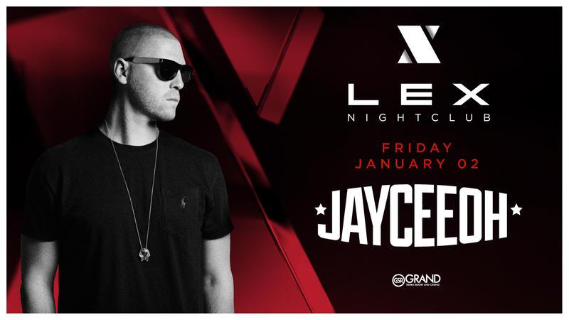 Jayceeoh set to DJ on January 2nd!