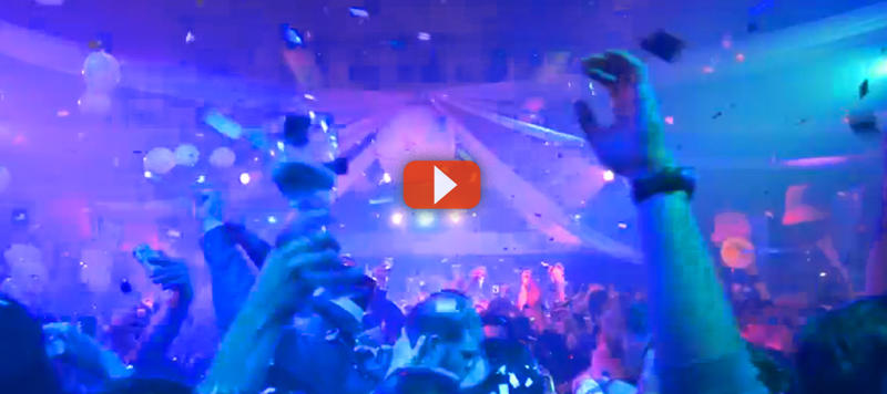 Incredible New Year's Eve LEX Nightclub Video